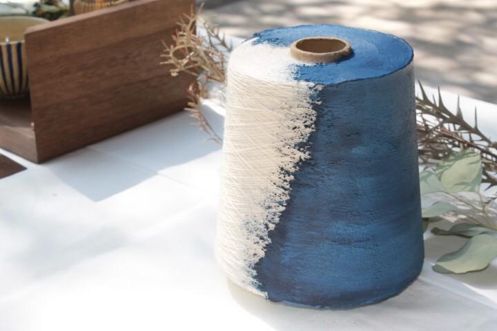 糸への施工